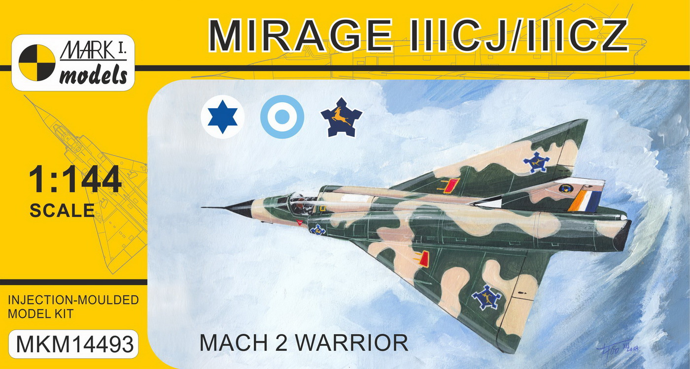 Mirage IIICJ/CZ 'Mach 2 Warrior' (Israeli, Argentinian & South A